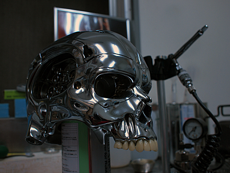 T-800 ANIMATRONIC BUST Version 2.1