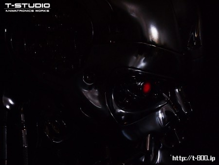 T-800 ANIMATRONIC BUST version 2.2