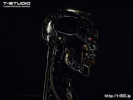 T-800 ANIMATRONIC BUST version 2.3