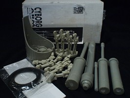 1:1 scale T-800 CYBORG ARM GREY ZON SCULPTURE LAB