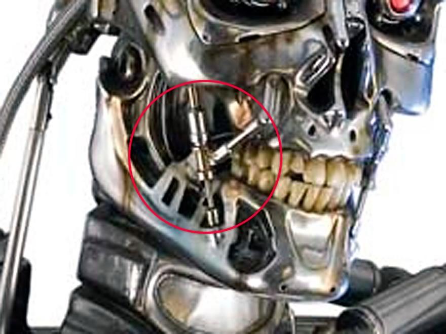 3作目のプロップ。下顎との接続部分の処理に特徴があります。
