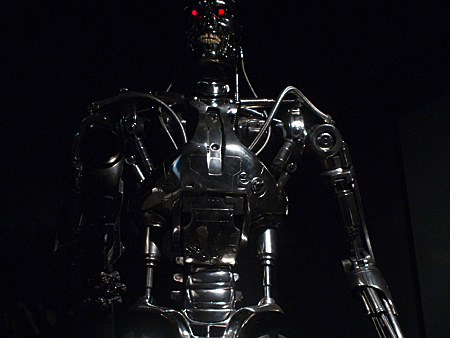 The life-size Endoskeleton at T-STUDIO. Someday it will become an