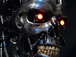 1:1 scale T-800 ENDOSKULL SIDESHOW COLLECTIBLES