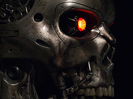 1:1 scale T-800 ENDOSKULL XFX STUDIO