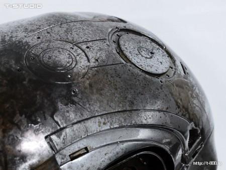 M1号エンドスカルキット バトルダメージ 金属塗装
