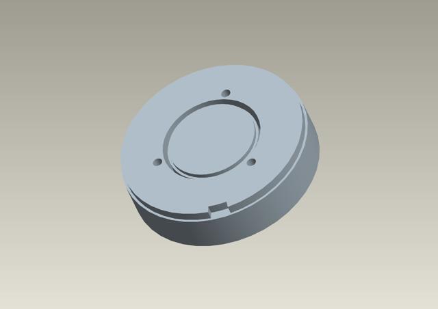 ターミネーター2のプロップ(エンドスカル)のパーツを3Dプリンタで出力