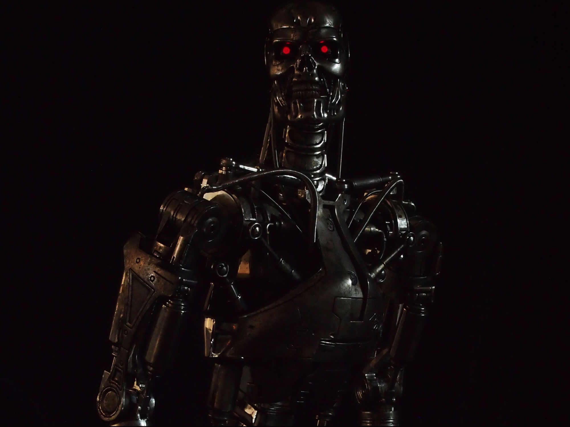 HOTTOYS Quarter Scale - 1/4 Scale Fully Poseable Figure: The Terminator - T-800 Endoskeleton