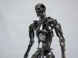 hottoys 1/4 quarter scale endoskeleton レビュー 口コミ ブログ 画像 横向き