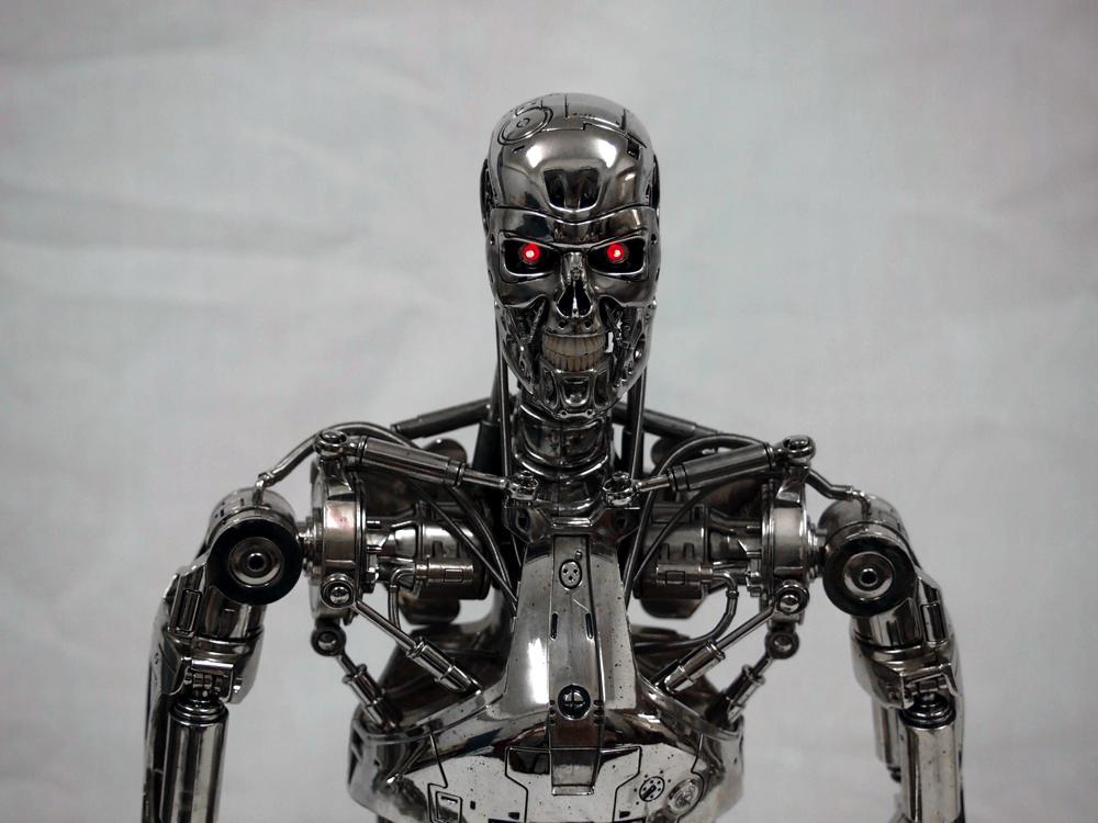 hottoys 1/4 quarter scale endoskeleton