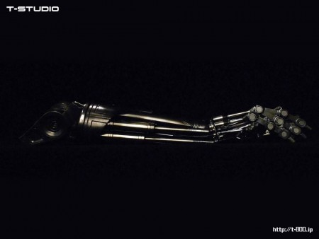 The Terminator Endoarm Prop Replica