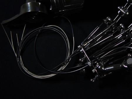 t1 endoarm ワイヤー制御による可動ギミック 006