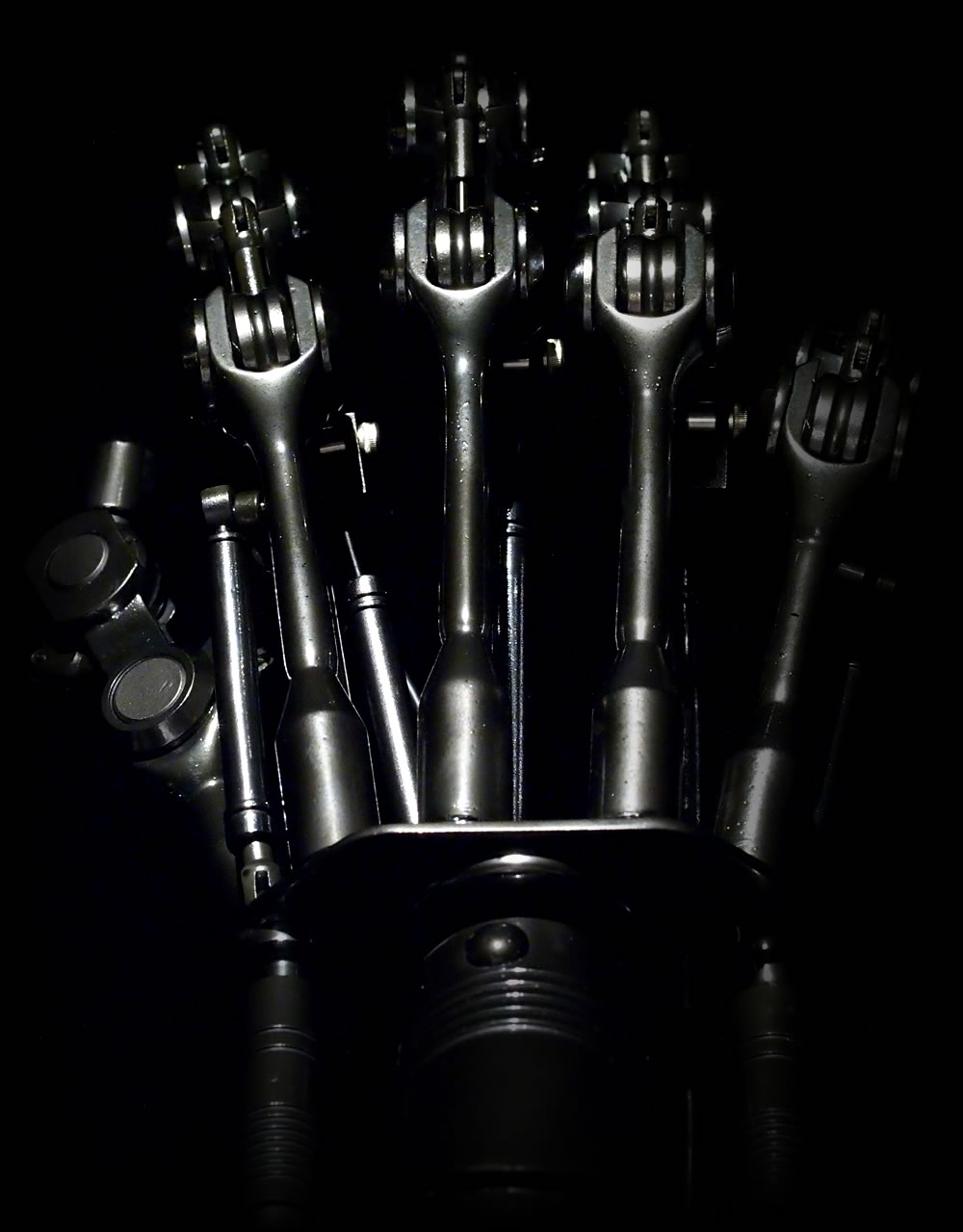 The Terminator T-800 Endoarm Prop Replica その2