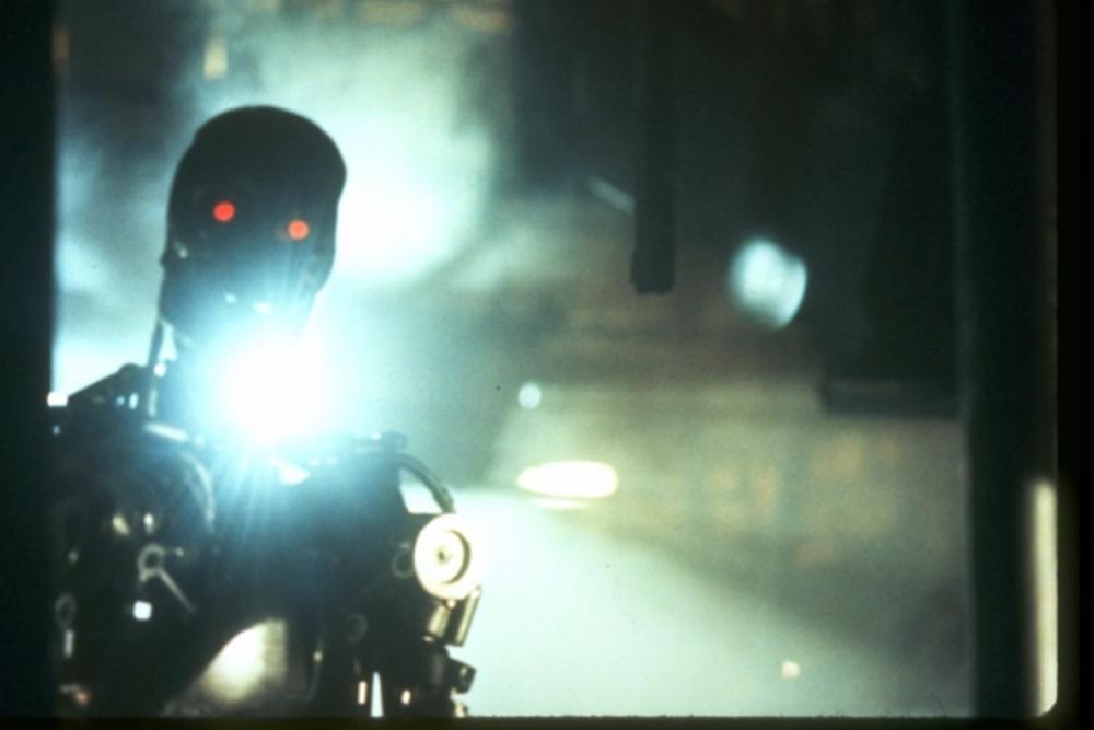 the terminator endoskeleton factory chase #001