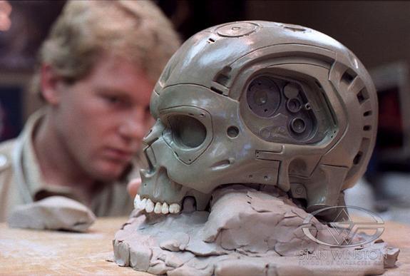 the terminator endoskeleton factory chase #003