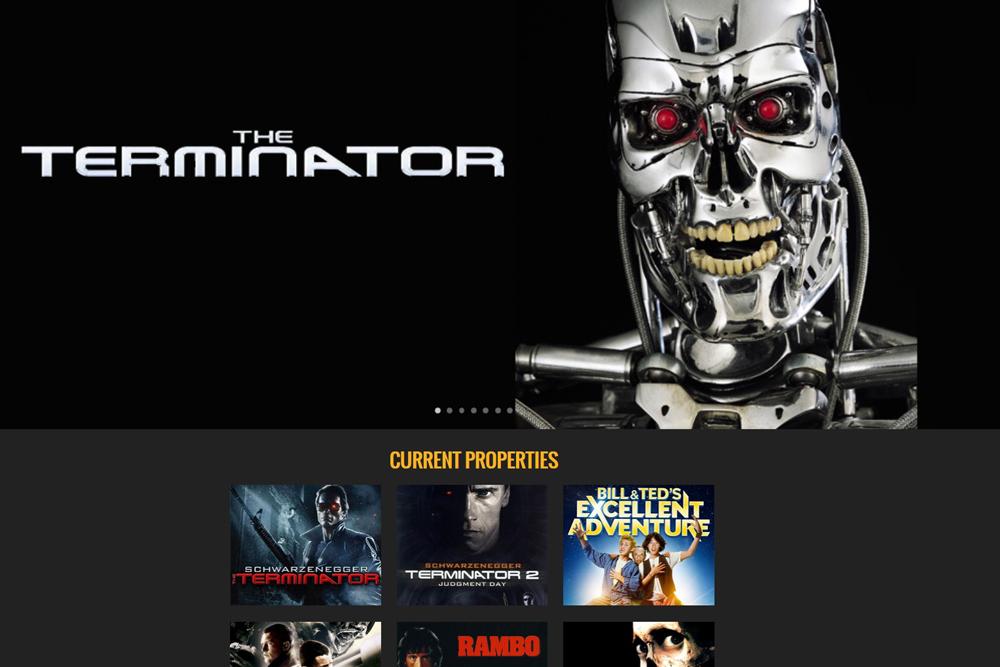 terminator 商品 製品 版権 ライセンス